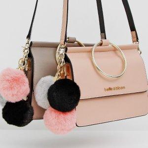 低至5.6折 + 额外6折 + 包邮独家:Belle & Bloom 精选时尚美包、配饰促销