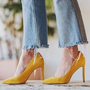 低至5折 平价一字带$37GLOBO 平价春夏单鞋 收糖果色细跟 一脚蹬穆勒$40