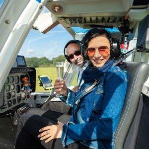 5折起 6英里双人直升机£29.5/人直升机之旅、驾驶课 解锁新体验 冲上云霄俯瞰全英
