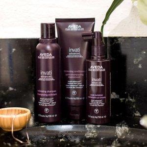 满$65送自选正装好礼限时:Aveda 精选护发、护肤及美体产品热卖