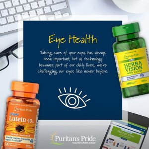 Buy 1 Get 2 Free11.11 Exclusive: Puritan's Pride Healthy Eyes® Lutein Extra with Zeaxanthin