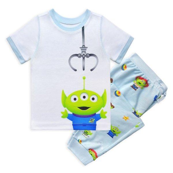 Toy Story Alien Pixar 男童睡衣套装