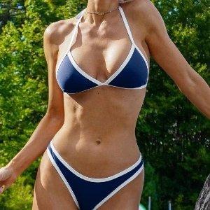 低至$11.99  收封面款zaful.com 热辣泳装特卖,多款$10+,集可爱与性感于一身