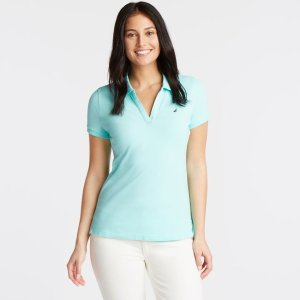 NauticaSplit-Neck Classic Fit Polo Shirt