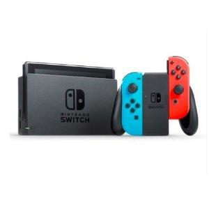 聚划算下单¥2299到手任天堂 NS switch 游戏机  随时随地玩个够