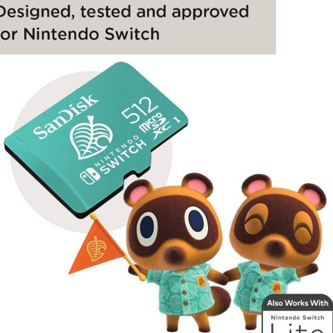 5.5折起 低至£15入SanDisk 内存卡、移动硬盘促销 动森联名卡热卖