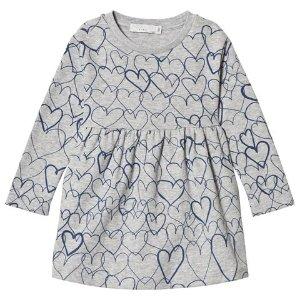 1e0acfe5 Stella Mccartney KidsGrey Marion Dress with Hearts Print | AlexandAlexa