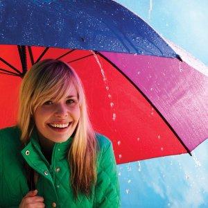 7.5折 $19.99收封面彩虹伞Totes 全场雨伞雨具热卖 便携迷你印花雨伞$17.99