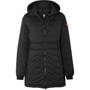Canada GooseCamp hooded quilted ripstop down jacket