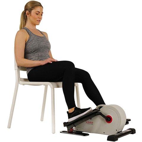 $129.99Amazon.com Sunny Health & Fitness Fully Assembled Magnetic Under Desk Elliptical – SF-E3872