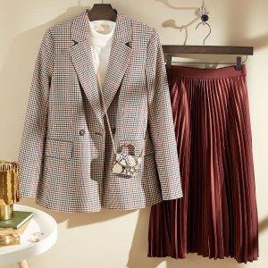 $70+收封面款衬衫夹克H&M 女士复古英伦风美衣 抢鲜热卖