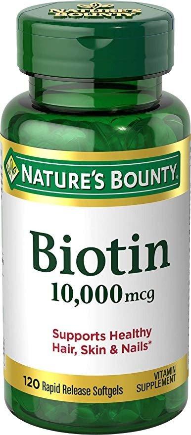 Biotin 10,000 mcg 120粒
