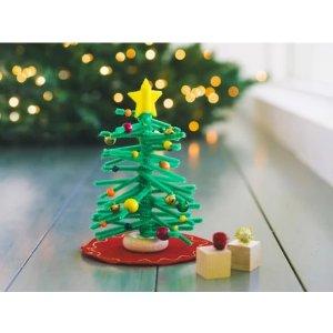 kiwico自制圣诞树,适合年龄 3-4