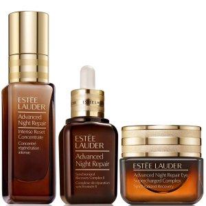 Estee Lauder总价值超€250 相当于73折全新高能小棕瓶+原版小棕瓶+眼霜套组