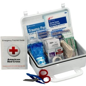 $9.37First Aid Only 10 Person First Aid Kit, Weatherproof Plastic Case