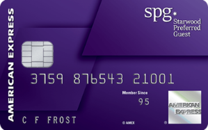 Earn 75,000 Bonus Points. Terms Apply.Starwood Preferred Guest® Credit Card from American Express