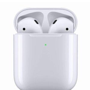 £119收Airpods 接近史低Apple Airpods无线蓝牙耳机 Pro 降噪耳机热促