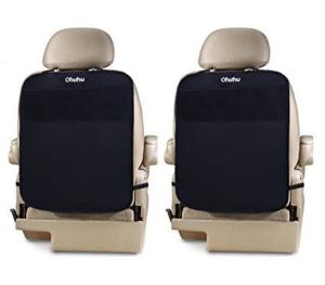 $16.99(原价$39.99)Ohuhu 汽车座椅后背防踢收纳垫-2个装