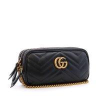 Gucci GG Marmont 迷你链条包