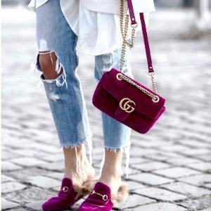 封面款包$1490 (原价$1890)即将截止:Gucci 定价优势 变相7.6折起 乐福鞋$690
