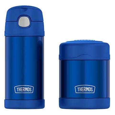 $12.97 + Free ShippingNew Markdowns: Thermos FUNtainer Bottle and Food Jar Lunch Set
