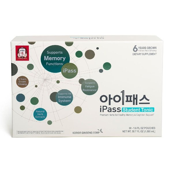 i-Pass 红参浓缩液 30包