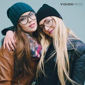 7.5折+免邮11周年独家:Visionpros 时尚眼镜促销  框镜加口罩出门不必慌