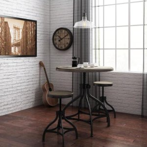 $49Whalen Brown Dining Set with Round Dining Table