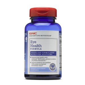 Ending Soon: $14 GNC PREVENTIVE NUTRITION® EYE HEALTH FORMULA