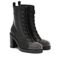 Christian Louboutin TS Croc leather 短靴