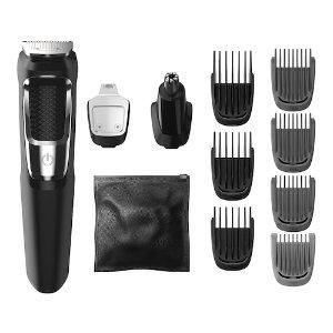 $11.9飞利浦 Norelco 3000系列 电动剃须/ 理发/ 造型修剪器 13件套