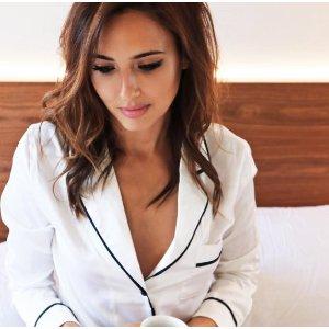 8折限时优惠LazeWear 纯丝绸超美睡衣热卖中,快来收网红睡衣