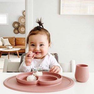$13.95收宝宝餐具EZPZ 儿童餐具 锻炼宝宝自主进食 网红宝贝吃播同款
