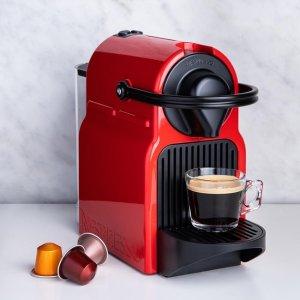 低至5折 $99.99即入手Nespresso 高颜值咖啡机热卖   收小巧复古Inissia、Essenza