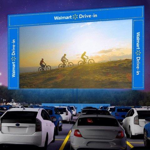 As low as $0Walmart Drive In big screen US