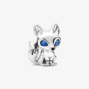 Pandora李希侃同款蓝眼睛狐狸串珠