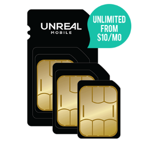 $0.01 Setup FeeUnlimited Mobile + 5GB LTE for THREE MONTHS - only $20/month @ Unreal Mobile