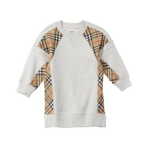 BurberryBurberry Vintage Check Panel Sweaterdress