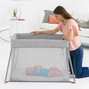 Skip Hop 便携式婴儿床,旅行携带方便,nuna 平替款