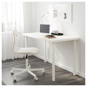 LINNMON / GODVIN Table - white  - IKEA