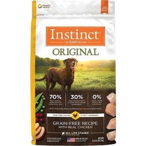 Instinct无谷鸡肉味狗粮 22.5lb
