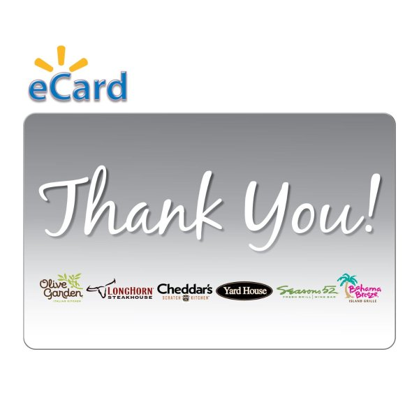 Darden® Restaurants $25电子礼卡
