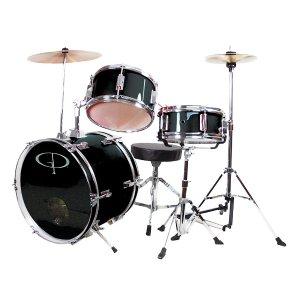 $153.56 (原价$252.52)史低价:GP Percussion 儿童架子鼓套装