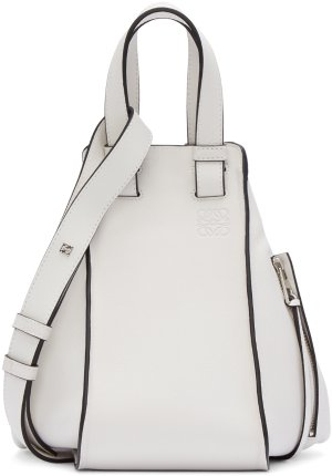 Loewe: White Small Hammock Bag | SSENSE