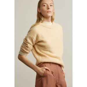 Mohair Crewneck Sweater
