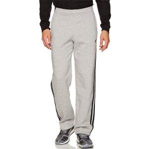$19.88(原价$45)+包邮adidas Essentials 经典三条杠抓绒运动裤 多色可选