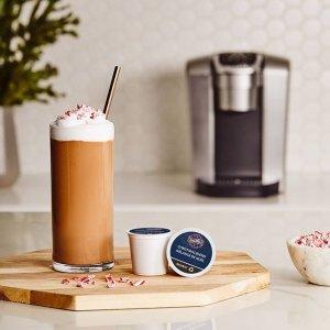 低至6.5折 胶囊$0.58/颗Keurig 咖啡机胶囊热卖 Tim、星爸爸在家喝 完美奶盖自己做