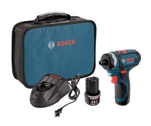 $69Bosch 12V Max 双速电钻,配2块电池、充电器及收纳包