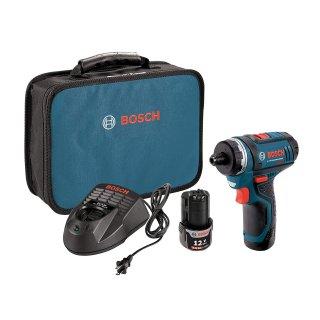史低价:Bosch 12V 无绳电钻工具套装 带2块电池