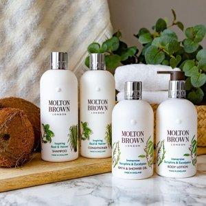 满额送6件套好礼Molton Brown官网 限定海港系列热卖 收沐浴露、身体乳